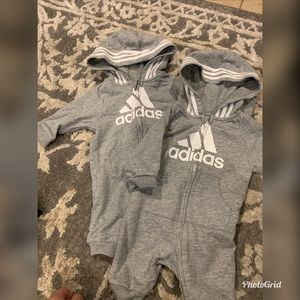 Baby Adidas Rompers